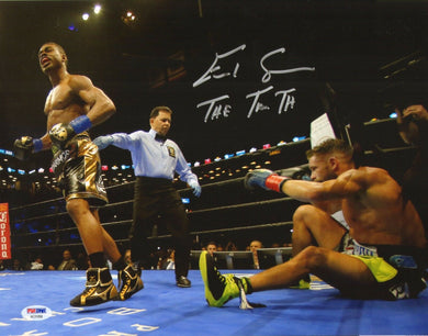 Errol Spence Jr. Signed Autographed 11x14 Photo PSA/DNA COA Boxing Champ