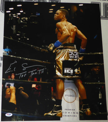 Errol Spence Jr. Signed Autographed 16x20 Photo PSA/DNA COA Boxing Champ