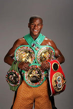 Floyd Mayweather Jr. Full Size Signed IBF Heavyweight Championship Belt (Beckett COA)