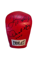 Floyd Mayweather Jr. and Oscar De La Hoya Autographed Boxing Glove, Authentic PSA