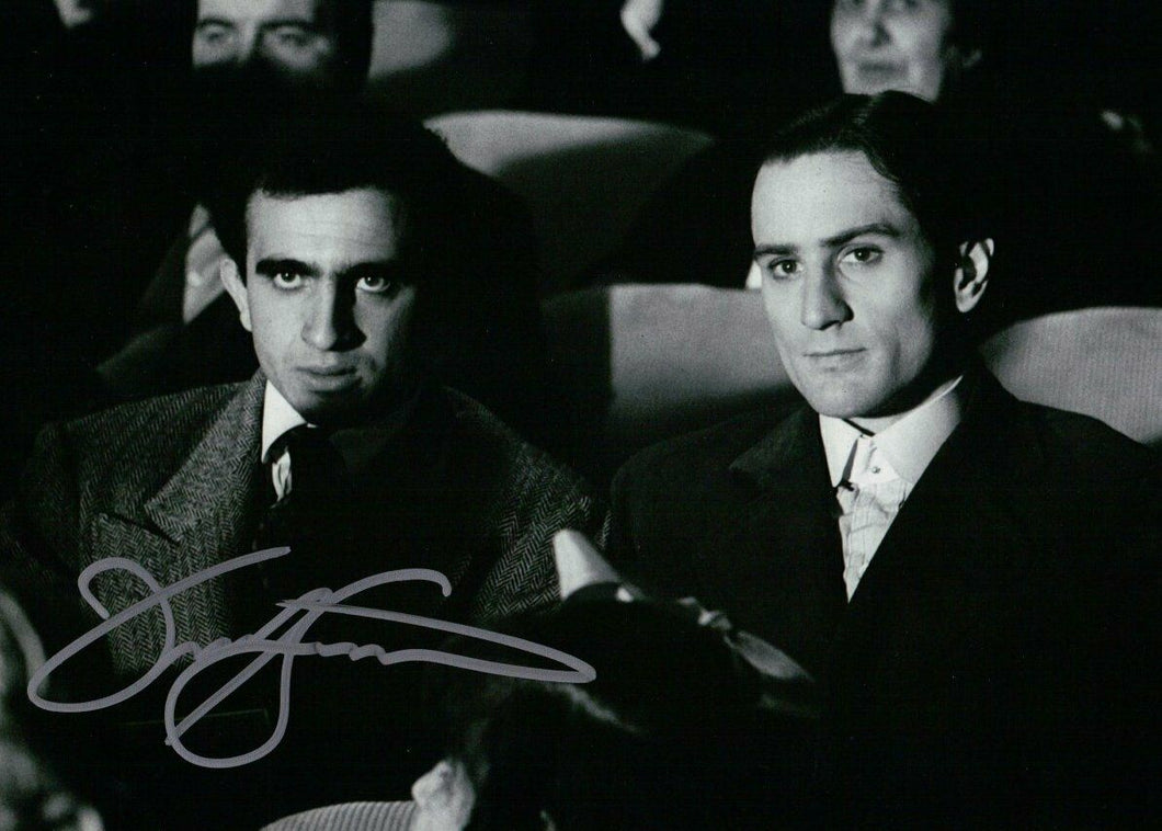 Frank Sivero Signed Autographed 8X10 Photo The Godfather Movie Theater W/ COA