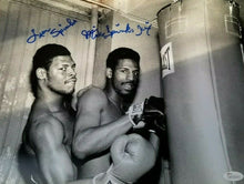 Leon Spinks Michael Spinks signed 11x14 photo Olympic Gold Hvywt champs JSA COA