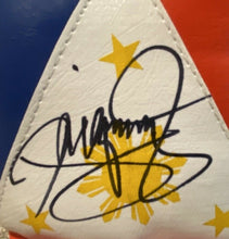 MANNY PACQUIAO SIGNED AUTO PHILIPPINE FLAG RIGHT BOXING GLOVE PSA Mayweather #2