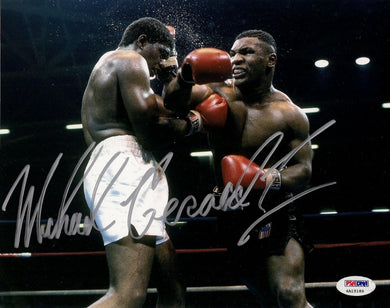 Michael Gerard Mike Tyson Signed 8x10 Photo PSA/DNA COA Full Name Autograph Auto