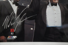 Mike Tyson Hand Signed Autographed 16X20 Photo w Muhammad Ali Don King JSA
