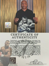 Mike Tyson Autographed Signed 16x20 Photo w/ White Tiger ASI Proof