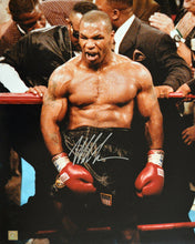 "Mike Tyson Autographed Signed 16x20 Photo ""IN RAGE"" ASI Proof"