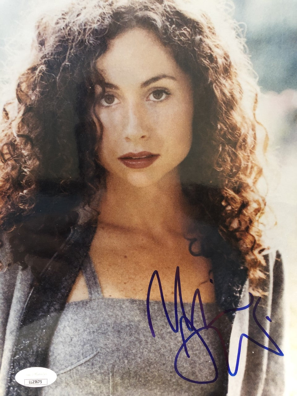 Minnie Driver Signed Autographed 8X10 Photo Good Will Hunting JSA