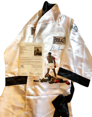 Muhammad Ali signed autographed Custom painted Boxing Robe