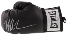 Mike Tyson Signed Everlast Black Boxing Glove (Fiterman Sports Hologram)