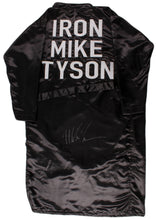 "Mike Tyson Signed ""Iron Mike"" Boxing Robe (PSA Hologram)"