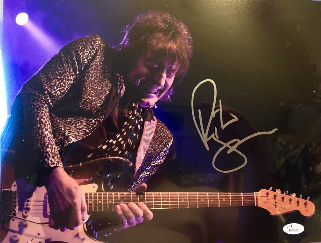 Richie Sambora autographed signed 8x10 Music photo memorabilia JSA cert.