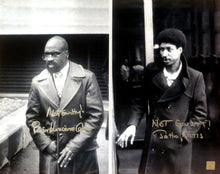 "Rubin ""Hurricane"" Carter & John Artis Signed 16x20 Photo ASI Proof"