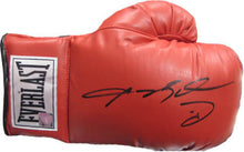 Sugar Ray Leonard Autographed Everlast Boxing Glove with ASI and JSA Cert