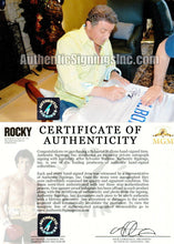 Sylvester Stallone Rocky Balboa Autographed ROCKY IV White Boxing Robe ASI Proof