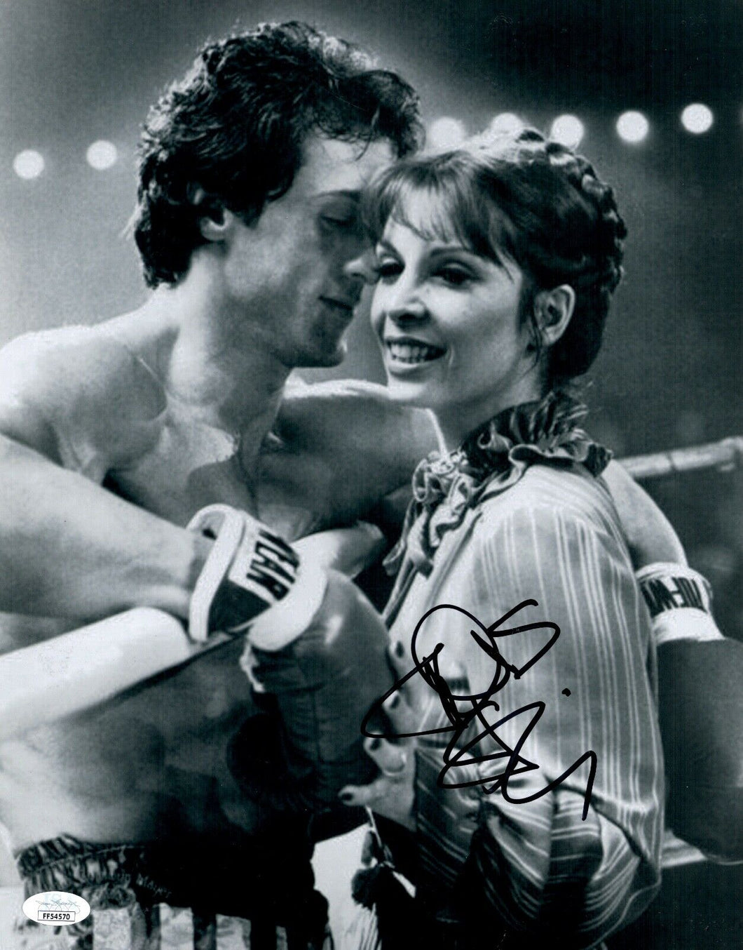 TALIA SHIRE Signed 11x14 Photo ROCKY Autograph THE GODFATHER In Person JSA COA