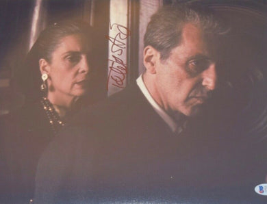 Talia Shire Signed Autograph 11x14 Photo The Godfather & Rocky Beckett BAS COA