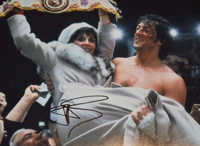 Talia Shire Signed Autographed 11x14 Photo ROCKY Adrian COA