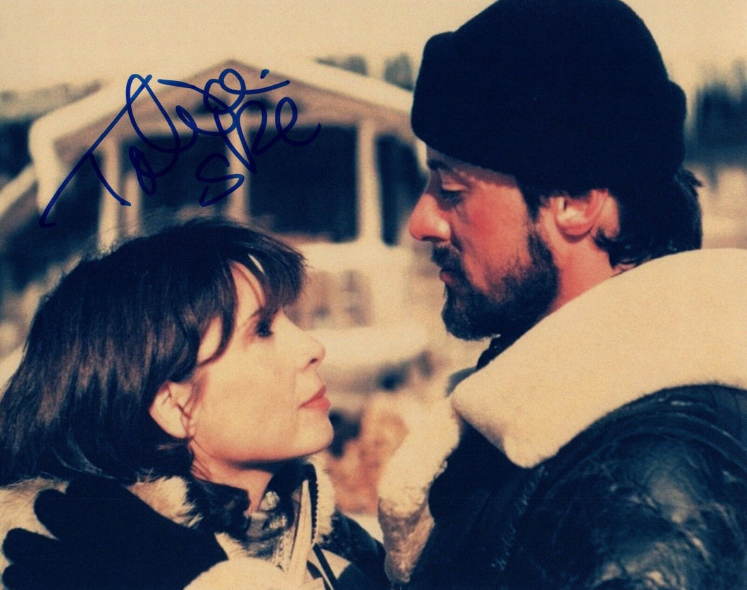 Talia Shire Signed Autographed 8x10 Photo ROCKY Actress COA