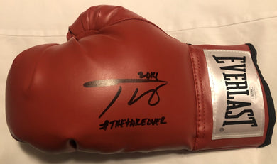 Teofimo Lopez autographed signed everlast Rare boxing glove certified