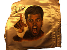 Muhammad Ali signed autographed Custom painted Boxing Trunks
