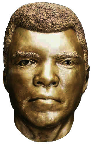 Muhammad Ali Gold Face Cast, Highly Detailed Rare Display Item