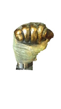 Muhammad Ali Actual Hand Cast which is Limited edition piece number 5/10 Made