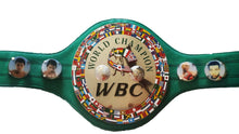 Evander The Real Deal Holyfield Autographed Full Size WBC Championship Boxing Belt, Steiner Sports