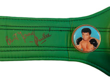 "Burt Young Signed Boxing 3/4 Mini WBC Boxing Belt Inscribed ""Paulie"""