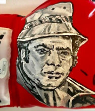 "Burt Young Hand Painted and Autographed Everlast Boxing Glove Inscribed ""Paulie"""