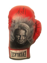 "Dolph Lundgren Hand Painted and Autographed Everlast Boxing Glove Inscribed ""Gunner"""