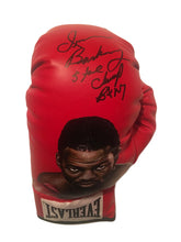 "Iran ""The Blade"" Barkley Autographed and Painted Everlast Boxing Glove"