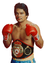 Roberto Duran Custom Boxing Robe Autographed in Black Signature Dual Certified