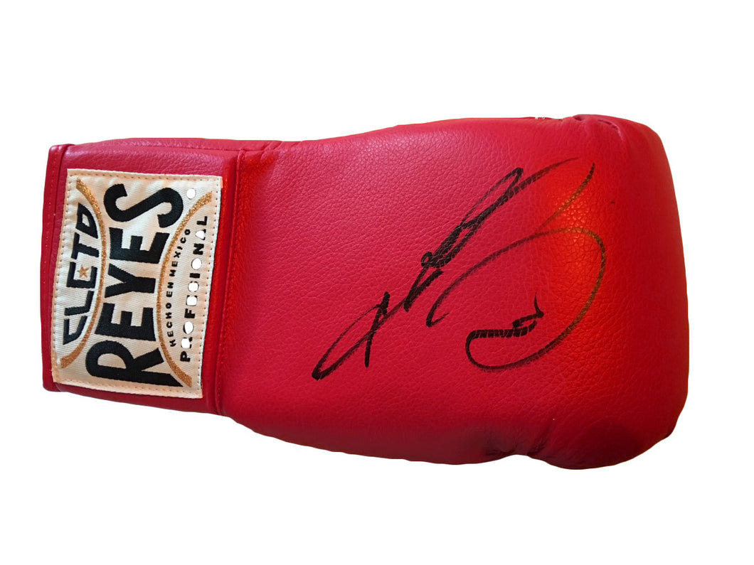 Sugar Ray Leonard Autographed Reyes Boxing Glove