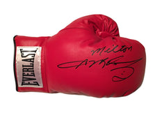 Sugar Ray Leonard Autographed personalized Everlast Boxing Glove