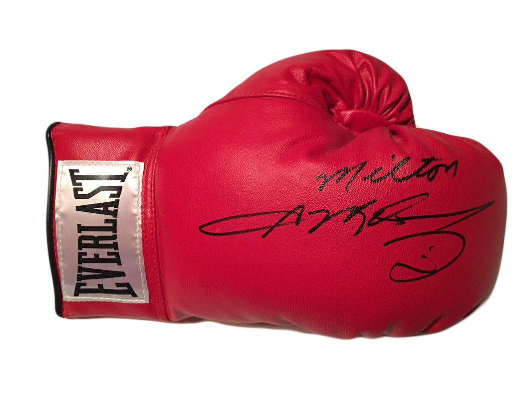 5024cc1564b Sugar Ray Leonard Autographed personalized Everlast Boxing Glove ...