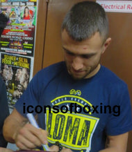 Vasyl Lomachenko Autographed BWAA Program in Black Signature, Photo Proof