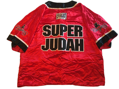Zab Judah Custom Boxing Corner man Jacket fight worn in his match