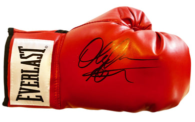 Amir Khan Autographed Red Everlast Champion Boxing Glove