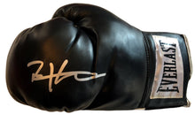 Bernard Executioner Hopkins Hand Signed Everlast Black Boxing Glove JSA