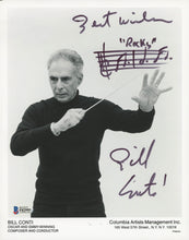 "Bill Conti Signed 8x10 Photo Inscribed ""Best Wishes"" & ""Rocks"" (Beckett COA)"