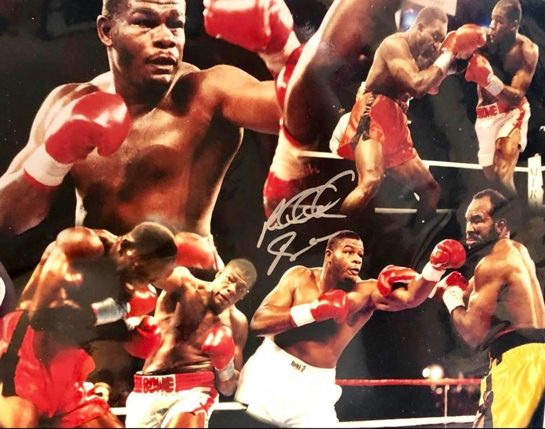 RIDDICK BOWE vs EVANDER HOLYFIELD PHOTO BOXING PICTURE RING ACTION