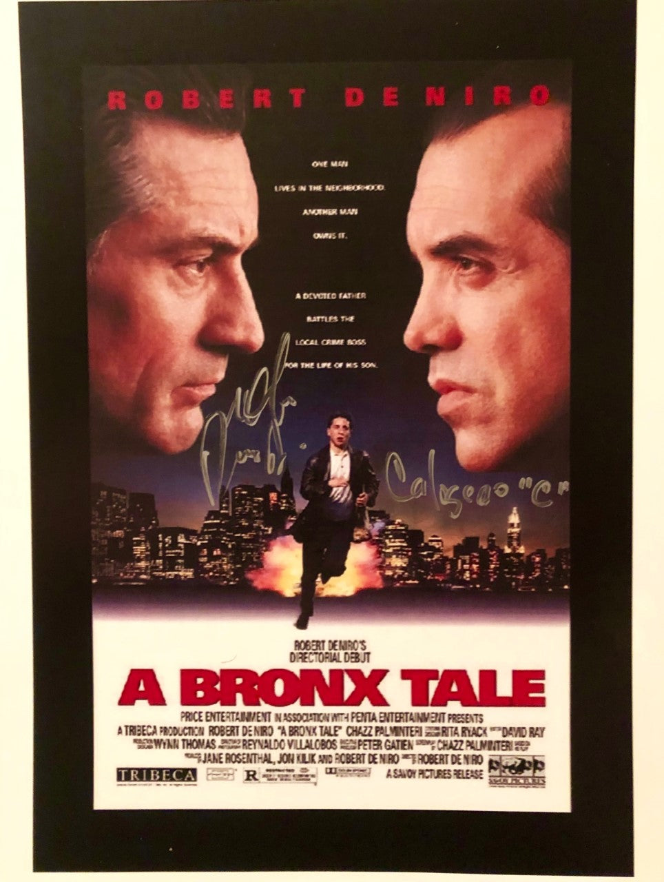 Lillo Brancato A Bronx Tale Signed 8x10 photo w/ Calogero Inscription
