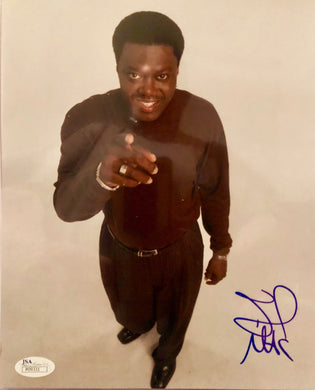 Bernie Mac Autographed 8 x 10 Color Photo JSA Certified Authentic