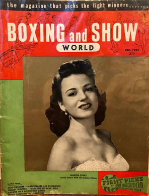 Boxing & Show World September 1955 Magazine