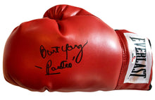 "Burt Young Autographed Everlast Boxing Glove Inscribed ""Paulie"" in Black."