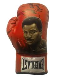 Carl Weathers Hand Painted and Autographed Everlast Boxing Glove Inscribed