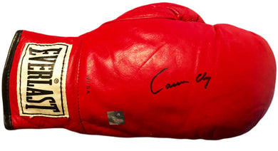 Cassius Clay Autographed Boxing glove with SSG certification right hand glove