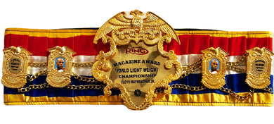 Floyd Mayweather Jr. Ring Magazine Championship Boxing Belt