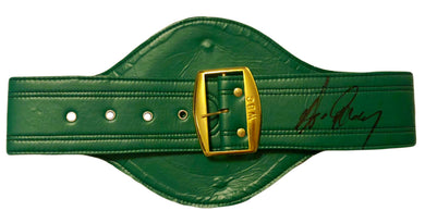 eb1efcd4df4 Gerry Cooney Autographed Full Size WBC Championship Boxing Belt